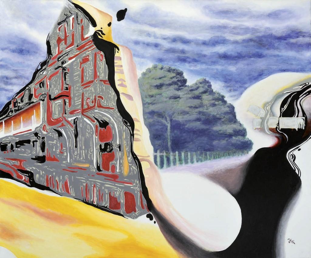 Jiri Hauschka, painter, stuckism, art, The Place Farm House