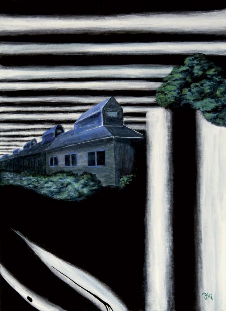 Jiri Hauschka, painter, stuckism, art, And Dark Became