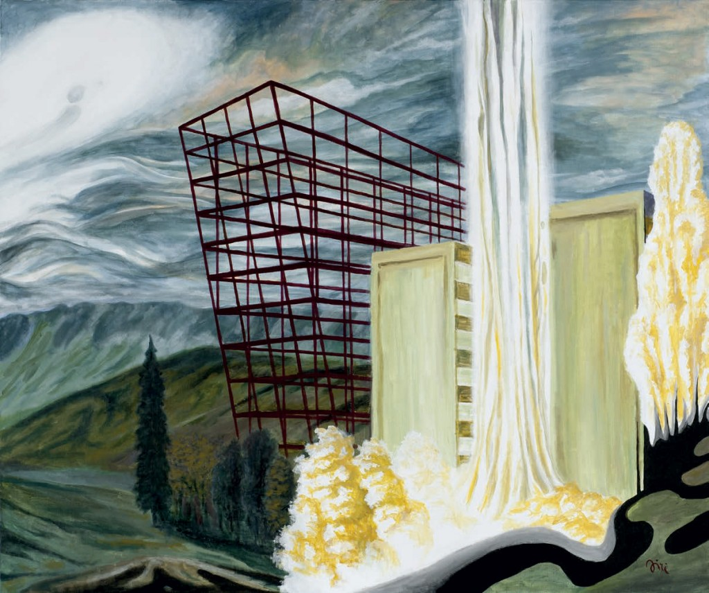 Jiri Hauschka, painter, stuckism, art, Cage
