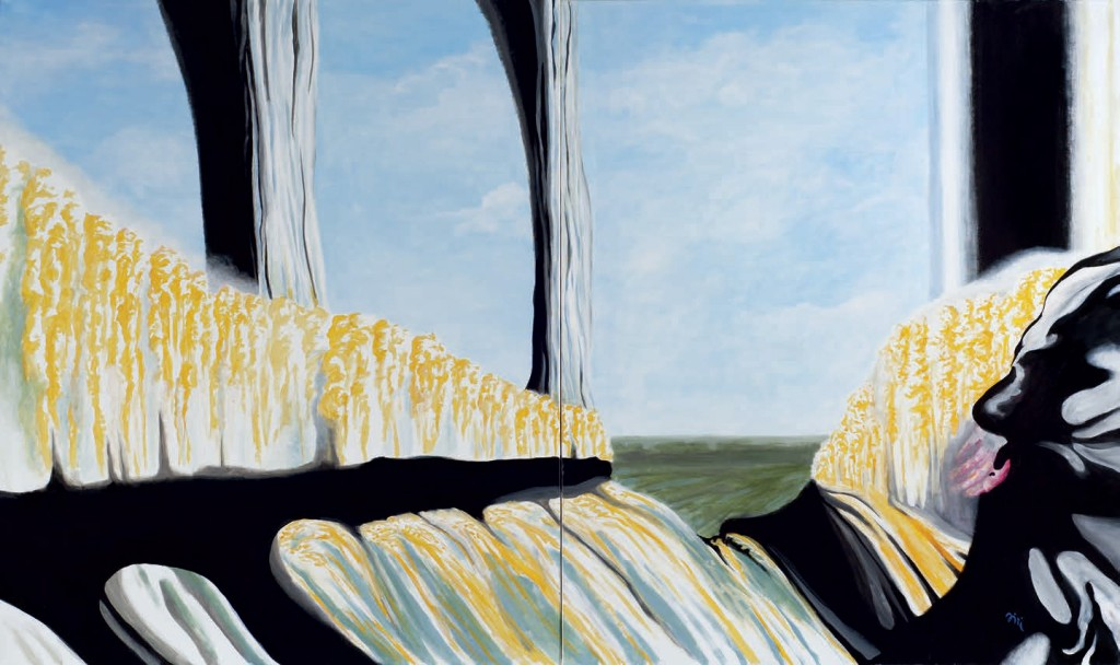 Jiri Hauschka, painter, stuckism, art, Yellow Forest