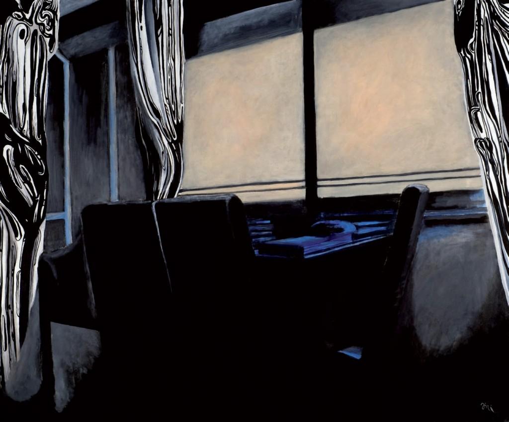 Jiri Hauschka, painter, stuckism, art, Inside and Outside
