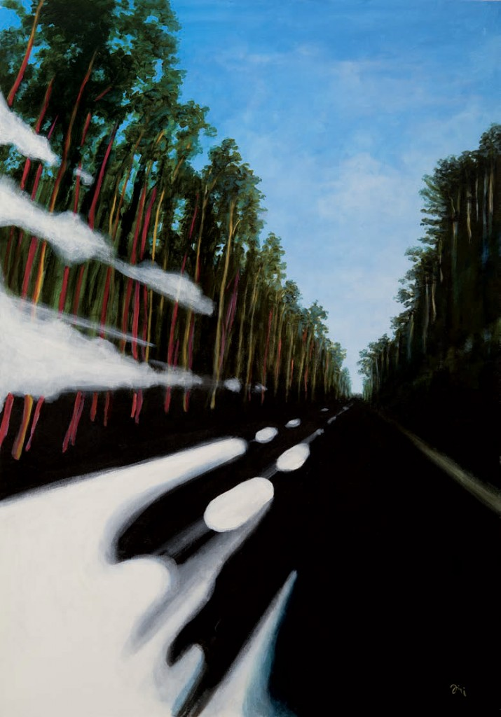 Jiri Hauschka, painter, stuckism, art, Road