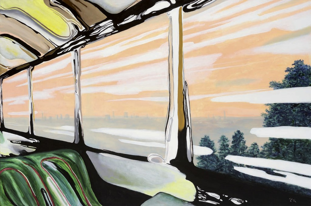 Jiri Hauschka, painter, stuckism, art, The Train