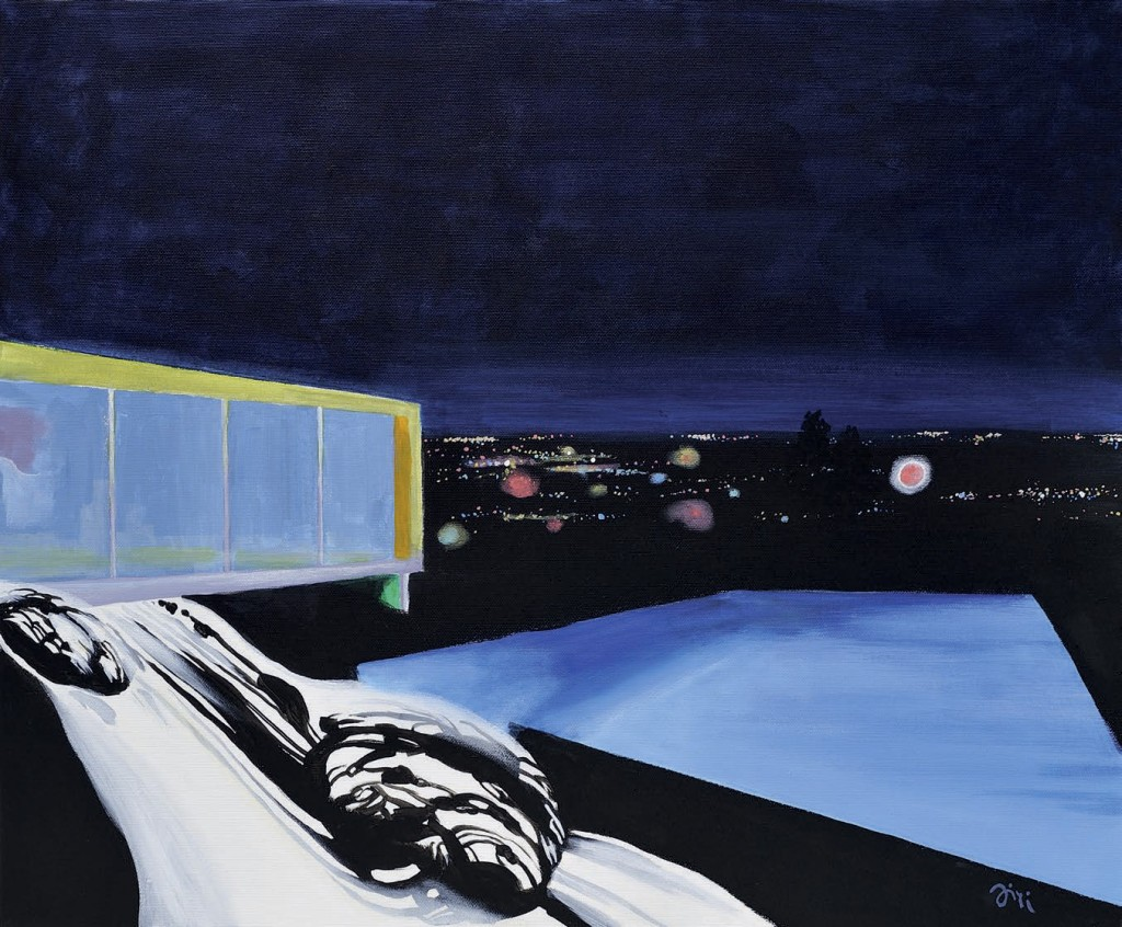 Jiri Hauschka, painter, stuckism, art, House to Hire