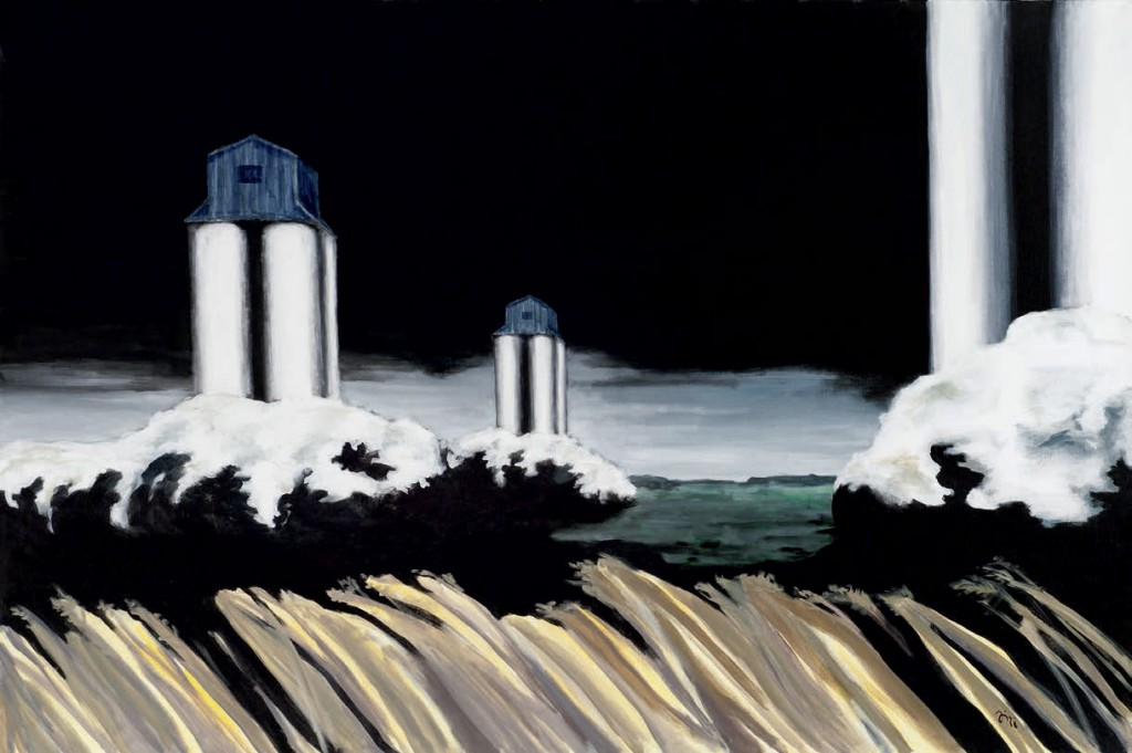 Jiri Hauschka, painter, stuckism, art, Silos Towers