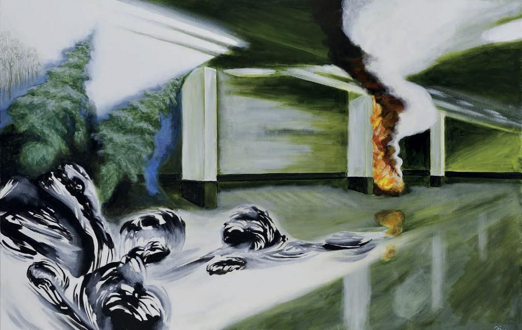 Jiri Hauschka, painter, stuckism, art, Underworld
